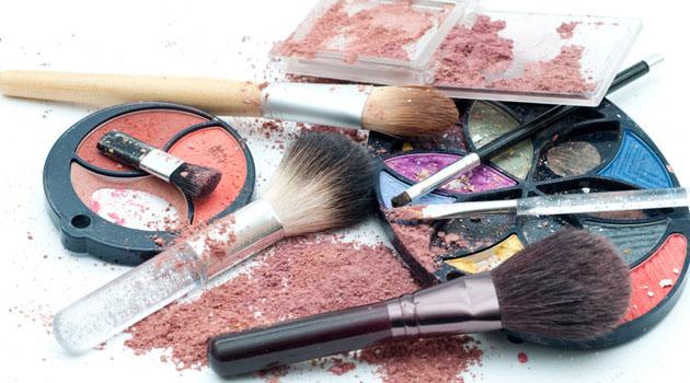 cosméticos viejos