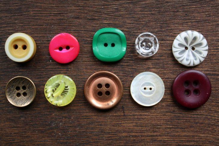 botones diferentes