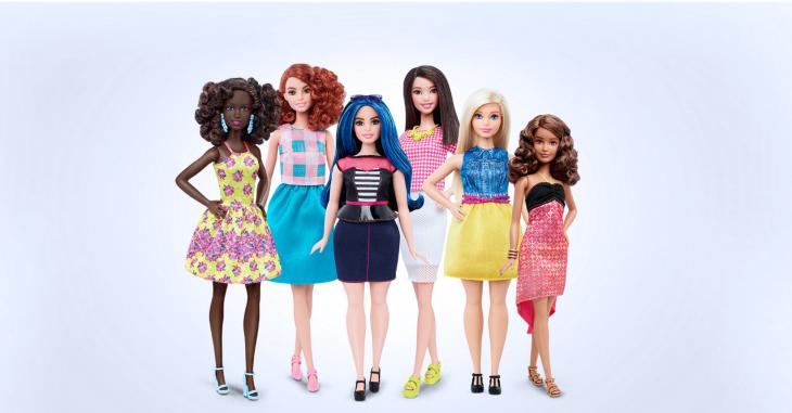 Nueva línea de muñecas barbie