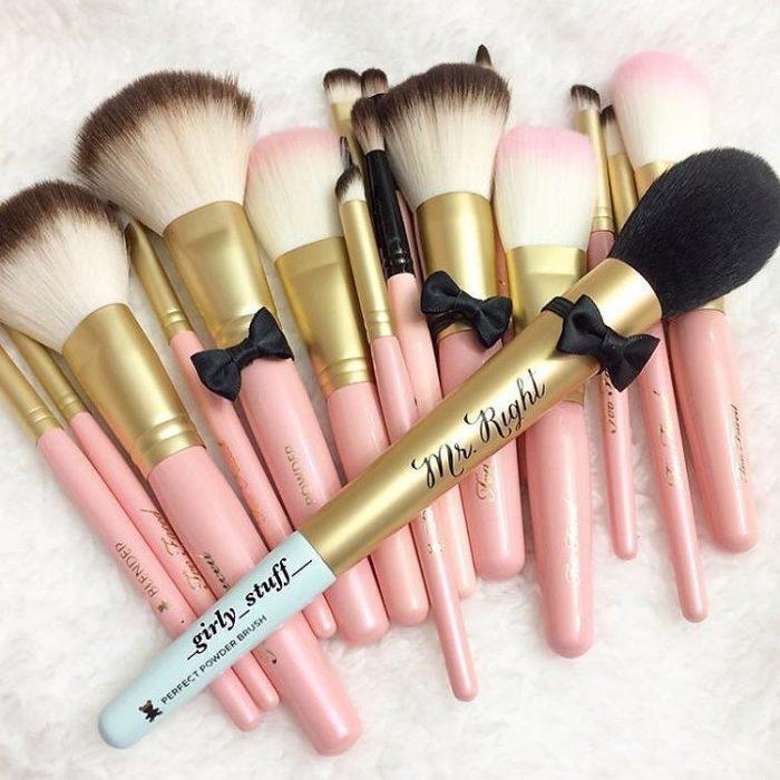 Brochas para aplicar maquillaje