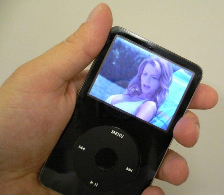 Ipod Nano con película
