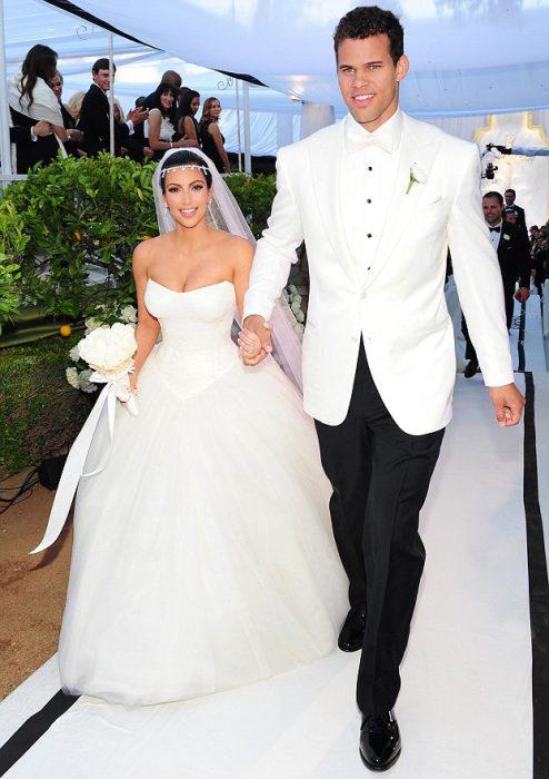 Kim kardashian y su ex esposo