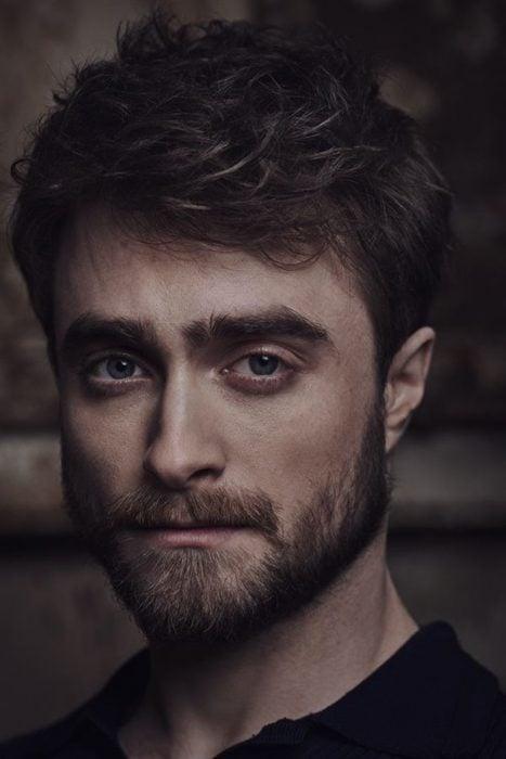 Daniel Radcliffe posando para Vanity Fair