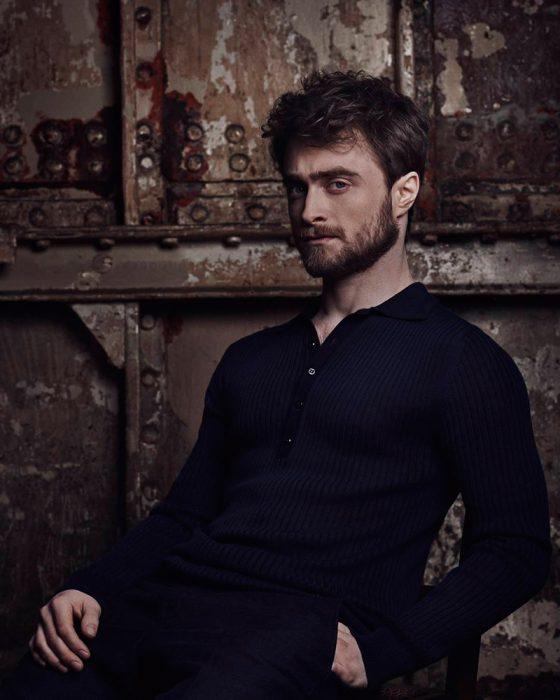 Daniel Radcliffe posando para Vanity