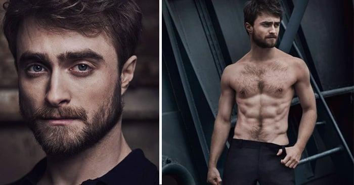 Estas fotos de Daniel Radcliffe demuestran que es el mago más sexy y atractivo de todos los tiempos
