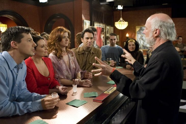 James Burrows dirigiendo Will and Grace