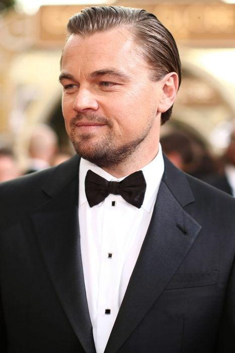 Leonardo DiCaprio en la gala de los globos de oro del 2014