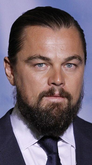Leonardo DiCaprio con barba en el 2015