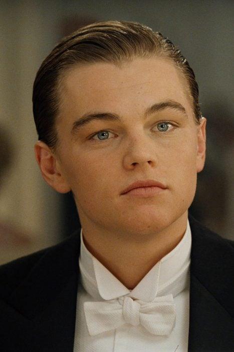 Leonardo DiCaprio en la película titanic de 1997