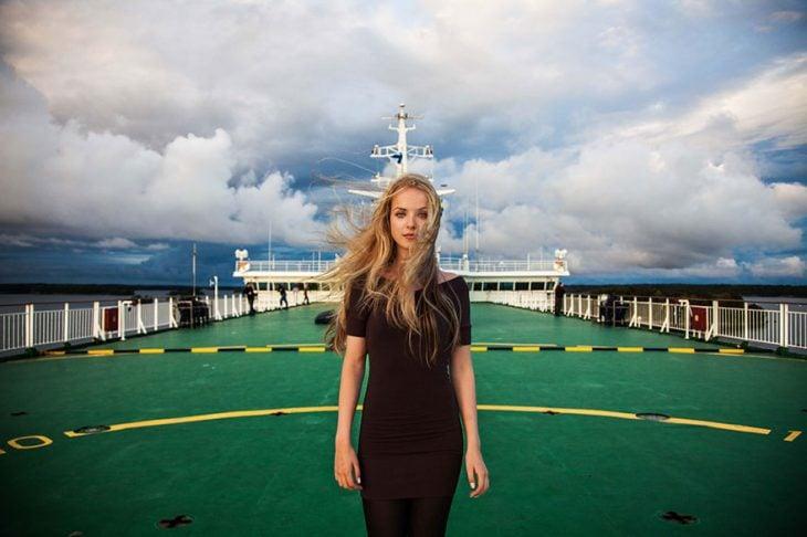 mujer de Finlandia fotografiada por Mihaela Noroc