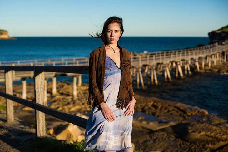 mujer de Australia fotografiada por Mihaela Noroc