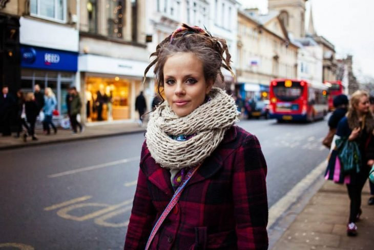 mujer de Inglaterra fotografiada por Mihaela Noroc