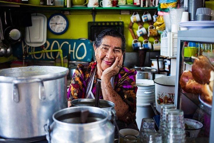 mujer de Ecuador fotografiada por Mihaela Noroc