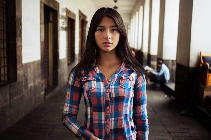 mujer colombiana fotografiada por Mihaela Noroc