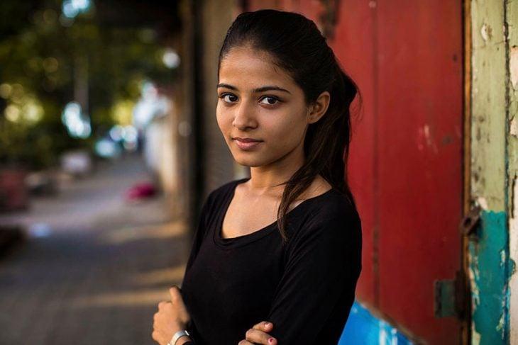 mujer de India fotografiada por Mihaela Noroc
