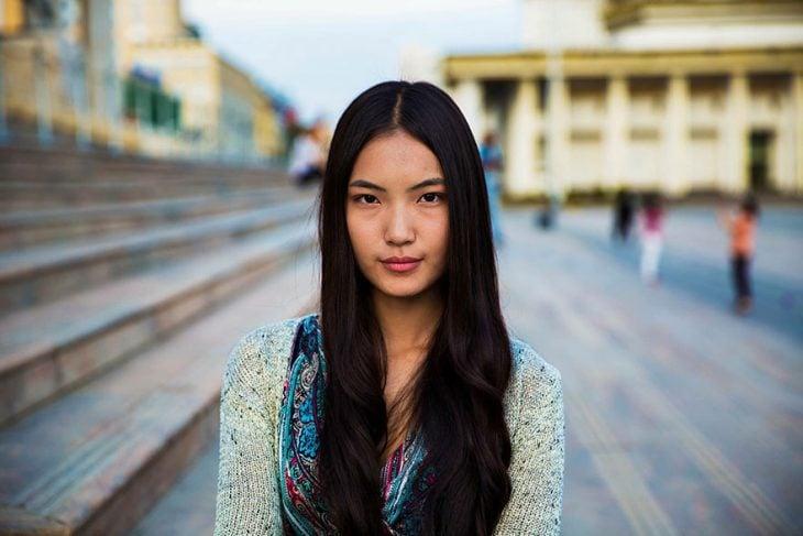 mujer de Mongolia fotografiada por Mihaela Noroc