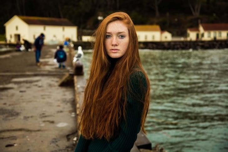 mujer de EUA fotografiada por Mihaela Noroc