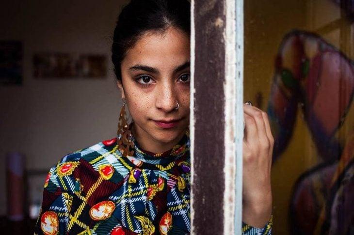 mujer chilena fotografiada por Mihaela Noroc