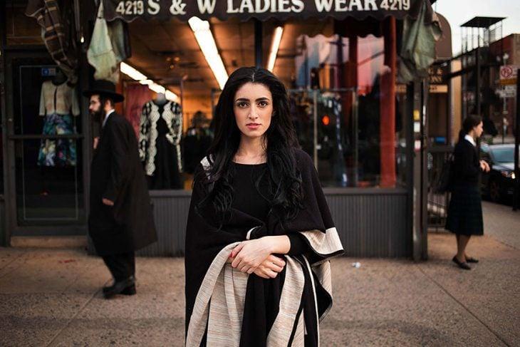 mujer de Estados Unidos fotografiada por Mihaela Noroc