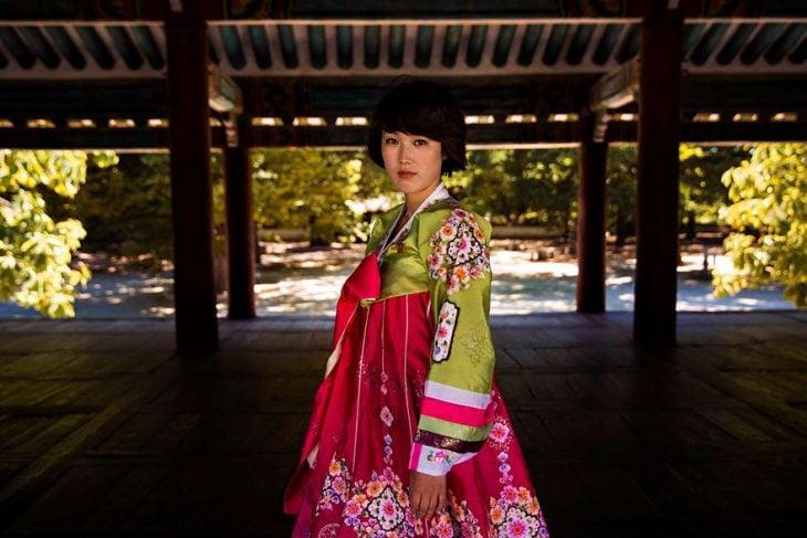 mujer de Corea fotografiada por Mihaela Noroc