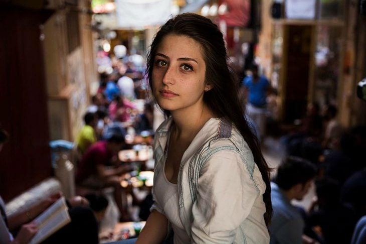 mujer de Turquía fotografiada por Mihaela Noroc