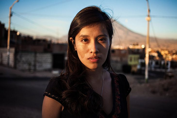 mujer de Perú fotografiada por Mihaela Noroc