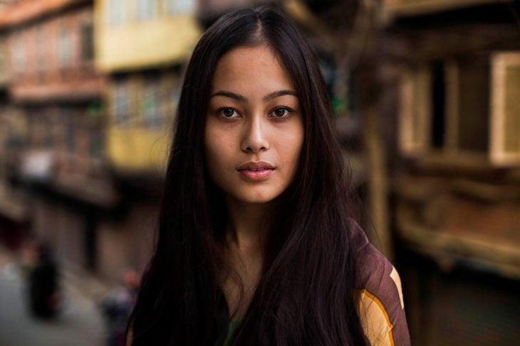 mujer de Nepal fotografiada por Mihaela Noroc