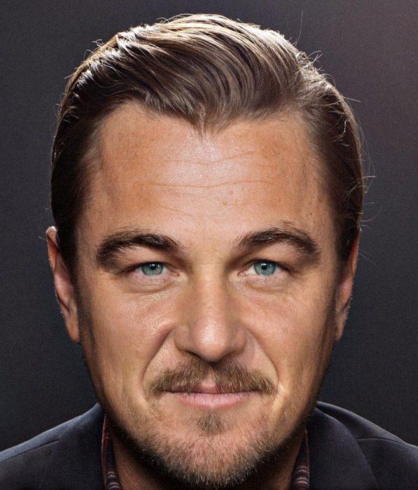 mezcla de Leonardo DiCaprio y Sean Penn