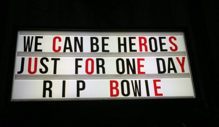 marquesina RIP David Bowie