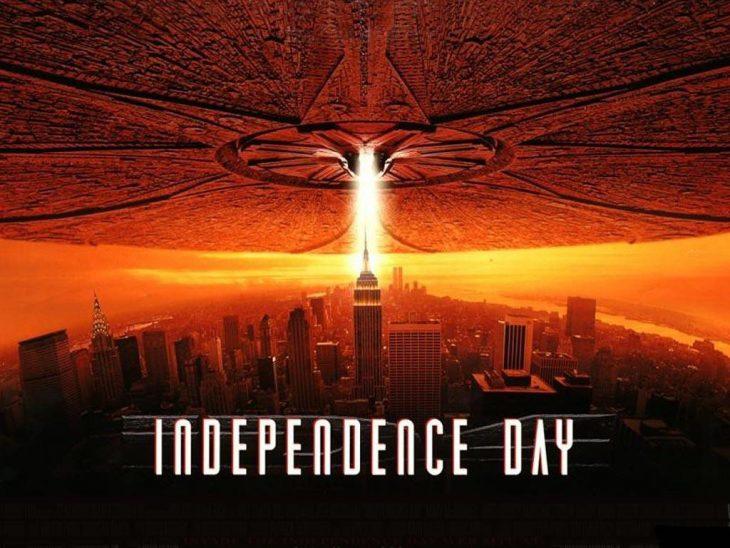 Cartel de la película día de la independencia
