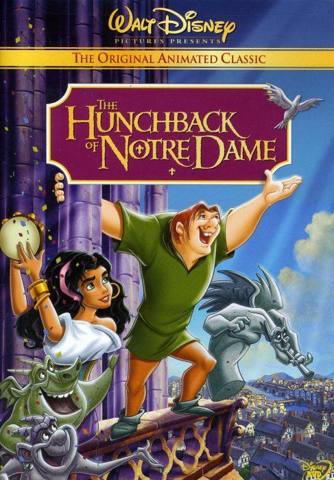 Cartel de la película el jorobado de Notre dame