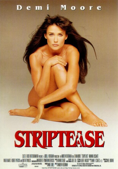 cartel de la película striptease