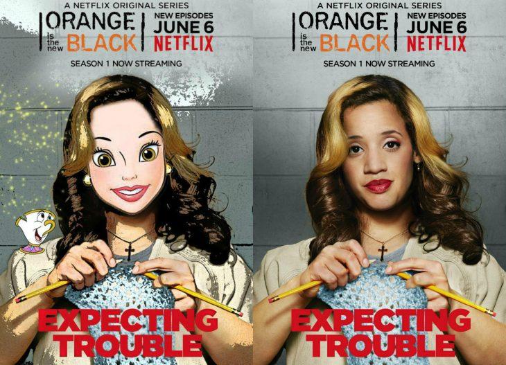 Princesas de Disney como personajes de OITNB (3)
