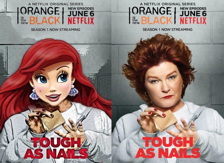 Princesas de Disney como personajes de OITNB (5)