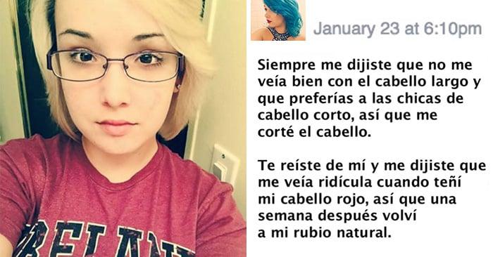 Su novio se burló de su apariencia y entonces ella le escribió esta carta