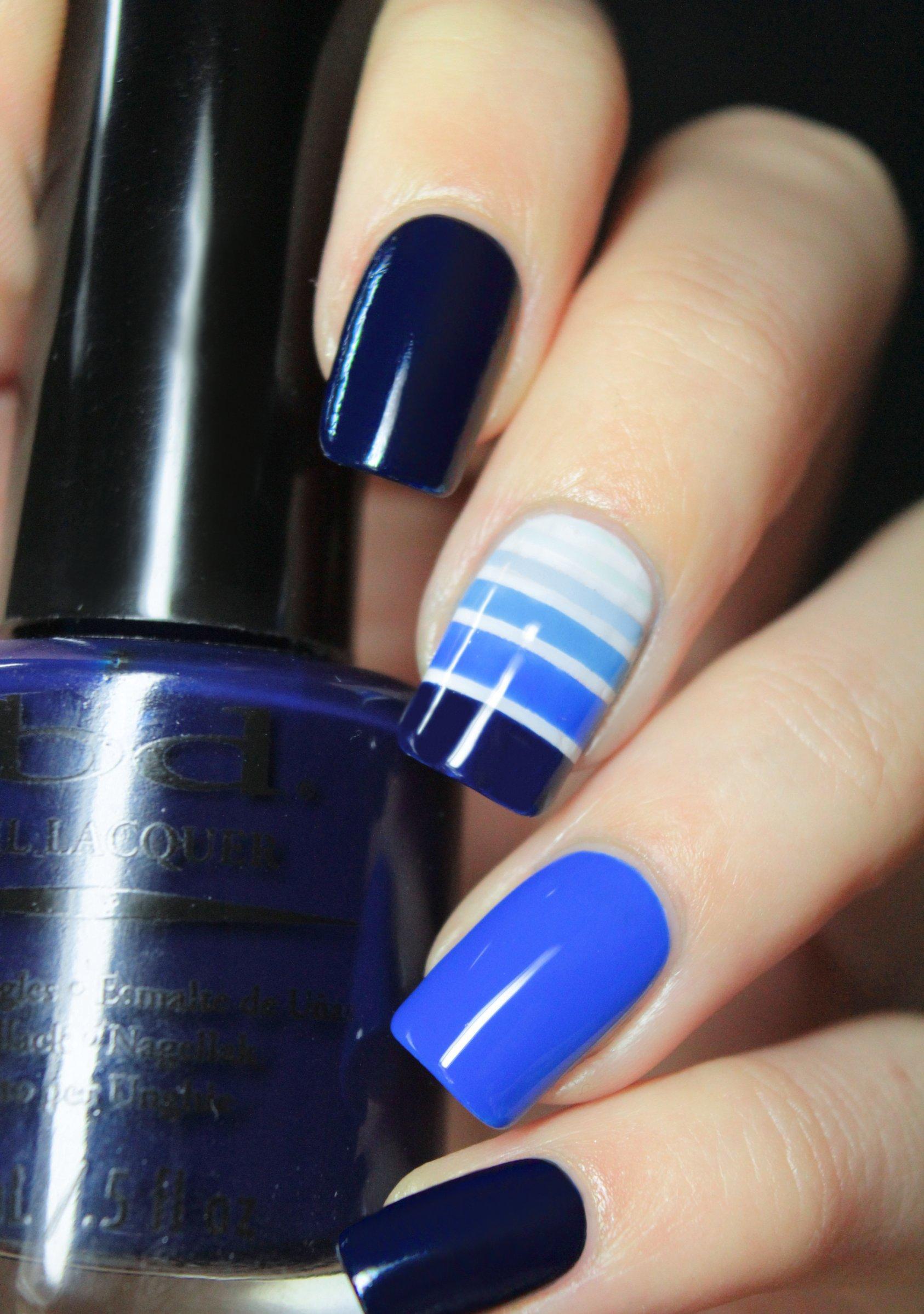 Dise os para decorar tus u as con tonalidades de color azul for Disenos para decorar unas
