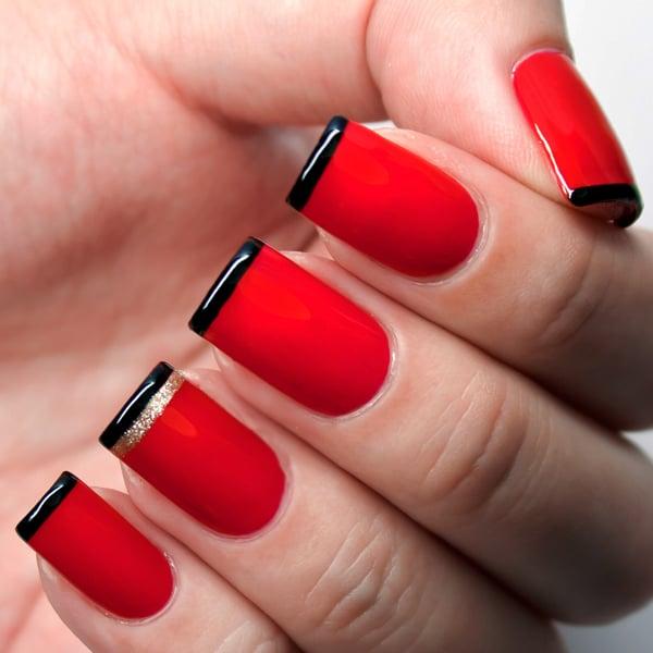 20 Uñas de color rojo que necesitas tener ahora mismo