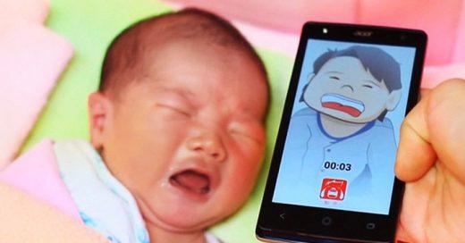 Nueva app traduce el llanto de tu bebé para saber si tiene sueño, hambre o dolor