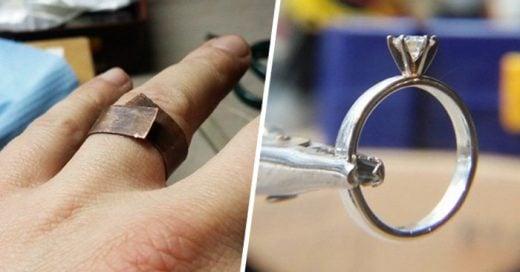 Este chico de la universidad de arte que logró elaborar un anillo de compromiso para su novia