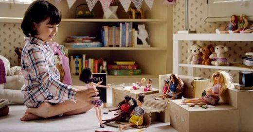 Después de 59 años, Mattel lo hace bien: el nuevo anuncio de Barbie es genial