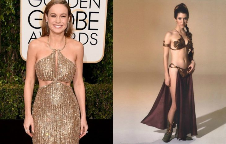 Brie Larson comparada con la princesa leia
