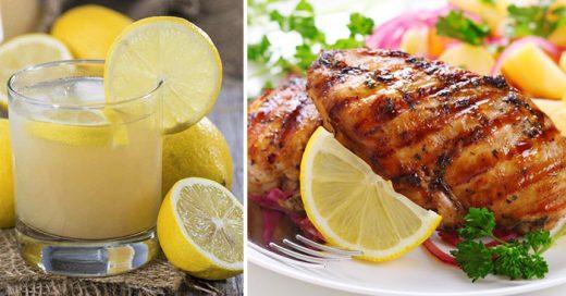 Dieta del limón con la que se puede perder hasta una talla en 5 días