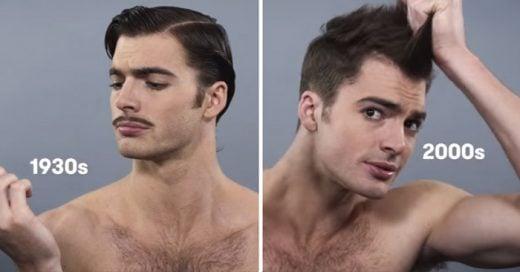 Así es como han cambiado los estándares de belleza masculina en los últimos 100 años