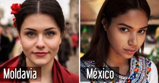 Fotógrafa rumana retrata la belleza de las mujeres de 45 países del mundo