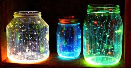 Haz tu propio frasco luminoso para dar magia a la habitación de tus hijos
