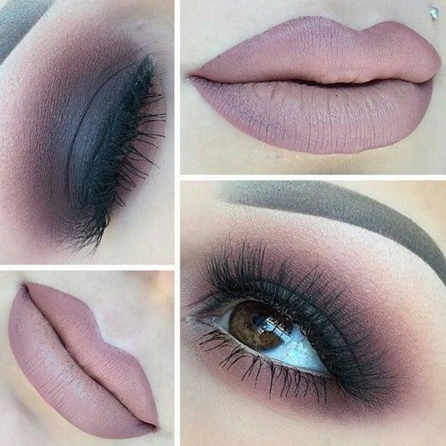 maquillaje labios desnudos nude