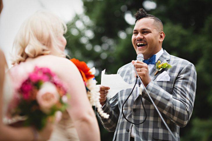 discurso de novio en su boda