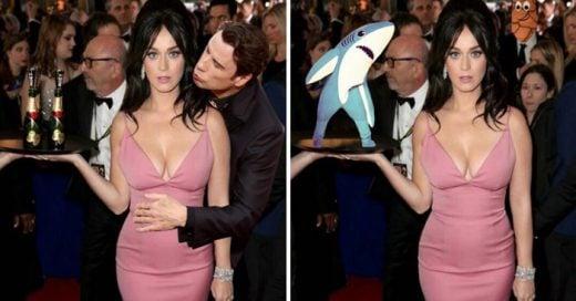 Katy Perry es trolleada en Internet después de servir champán en los Globos de Oro