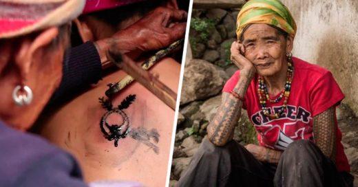 La mujer que mantiene vivos tatuajes con miles de años