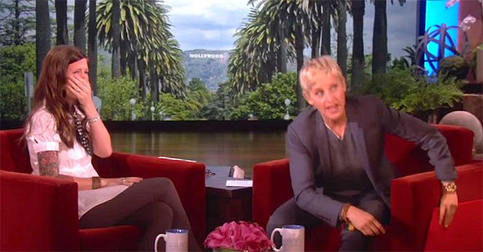 Ella es sorda y estaba lista para la entrevista. Ahora mira lo que Ellen DeGeneres hace en vivo